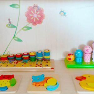 Aula Infantil de estimulación temprana