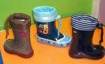 Botas de agua, calzado infantil