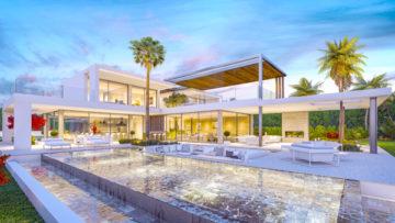 Casas de lujo en venta en Estepona HACIENDA CASA VERDE