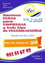 Cenas para Empresa y Todo tipo de Celebraciones en Estepona