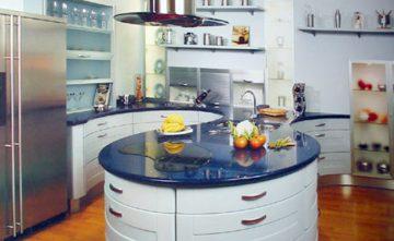 Cocina con isla Estepona