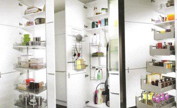 Columnas, muebles de cocina