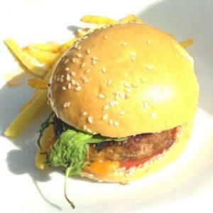 Hamburguesa gourmet de ternera