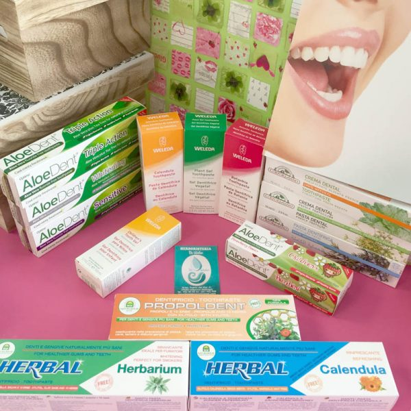 Higiene Buco Dental Dentífricos Ecológicos y Biológicos