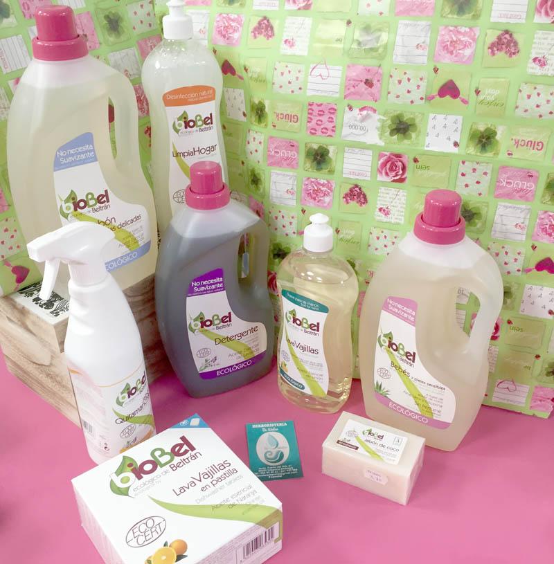 Limpieza ecológica para ropa y hogar