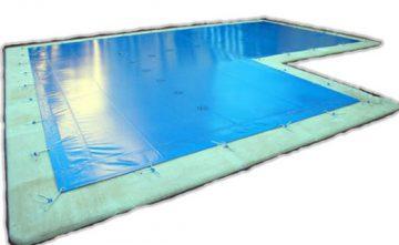 Lona cubre piscinas