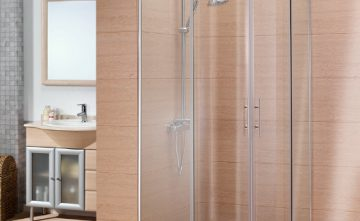 Mampara angular para ducha, Estepona