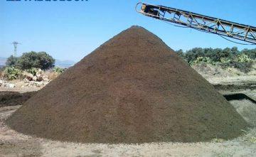 Mantillo a granel en La Costa del Sol