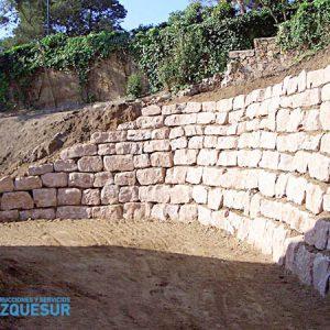 Construcción de Muros de piedra en Estepona