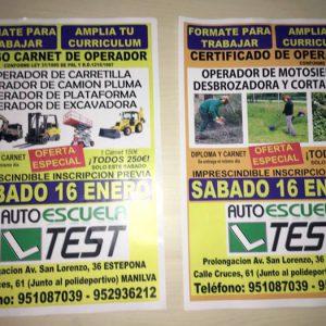 Curso de Operador de Carretilla y Excavadora