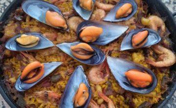 Paella de Pescado y Mariscos Comida Casera para llevar en Estepona
