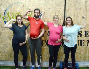 Pilates durante el EMBARAZO Entrenador Personal NATURAL FIT
