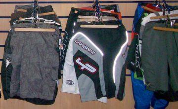 Ropa deportiva para ciclistas. Pantalones cortos
