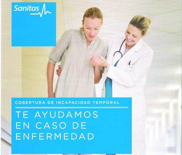 Sanitas incapacidad temporal Seguros Médicos en Estepona