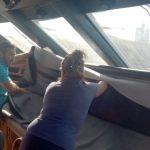 Tapicería náutica interior, cuadro mandos