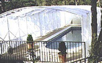Tunel Plegable para piscinas