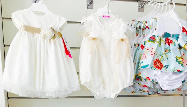 Vestidos para bebés e infantil