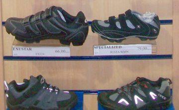 Zapatillas para ciclismo. Calzado deportivo para ciclistas Estepona