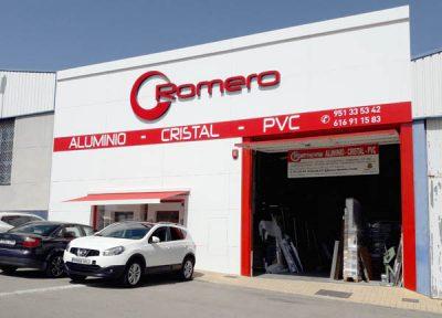 Carpintería de Aluminio y PVC Cristal Romero