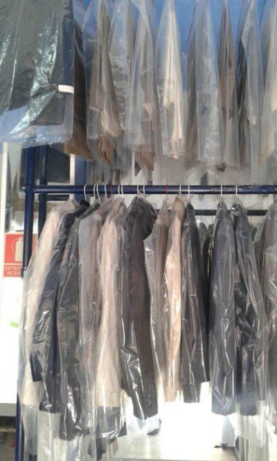Tintorería para trajes de chaqueta