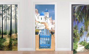 Dele un cambio a sus puertas con nuestros murales para puertas