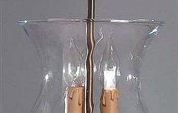 Lámpara colgante cristal óptico Estepona