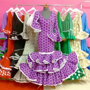 Vestidos de flamenca y comunión